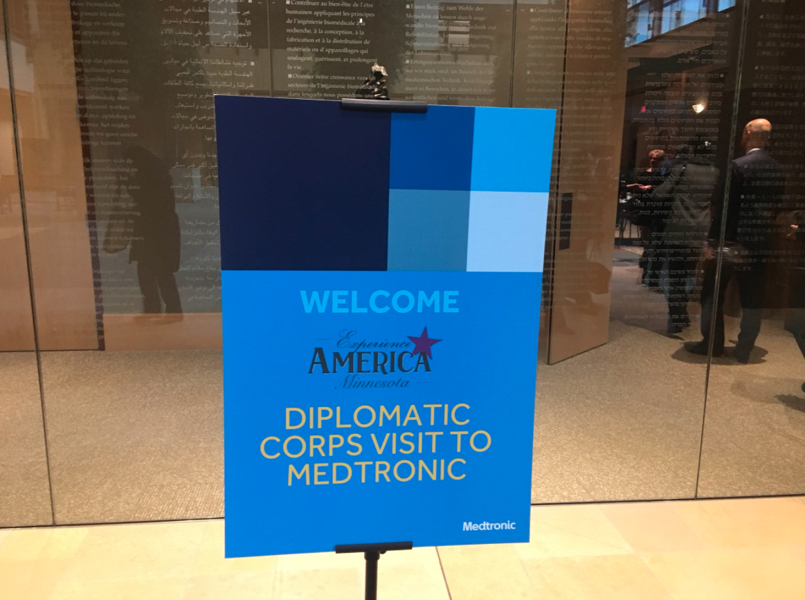 at the medical technology company Medtronic in Minneapolis, MN