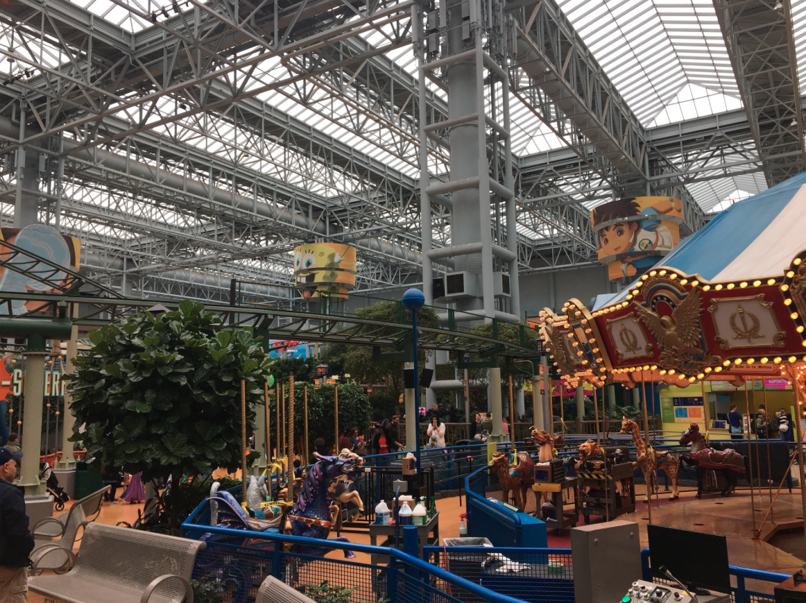 Behind-the-scenes visit at the Mall of America in Bloomington, MN