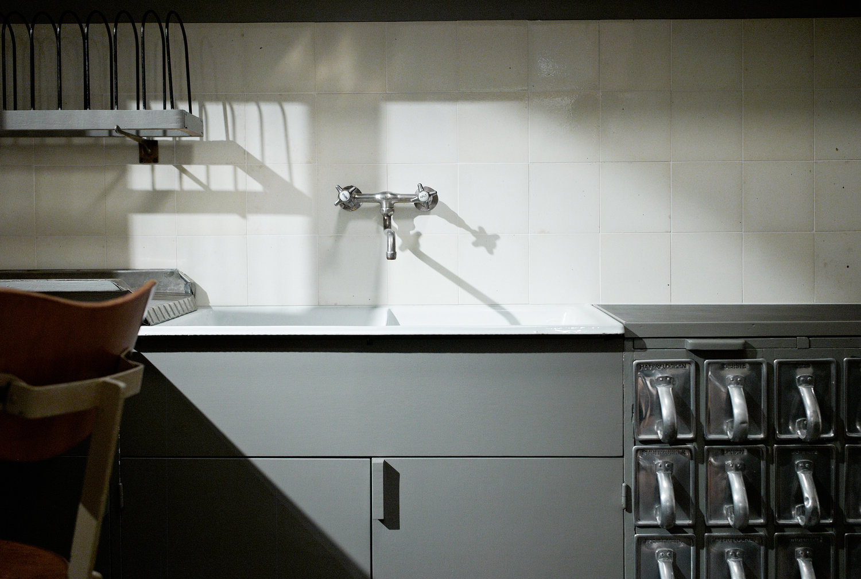 The Frankfurt Kitchen.Wikimedia/ Jonathan Savoie CC-BY-SA-3.0