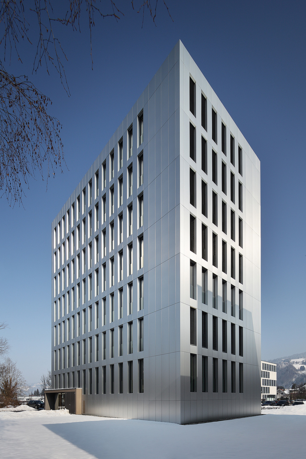 CREE/Rhomberg, LCT ONE, Wood Office Building, Dornbirn 2012. Norman A. Müller.