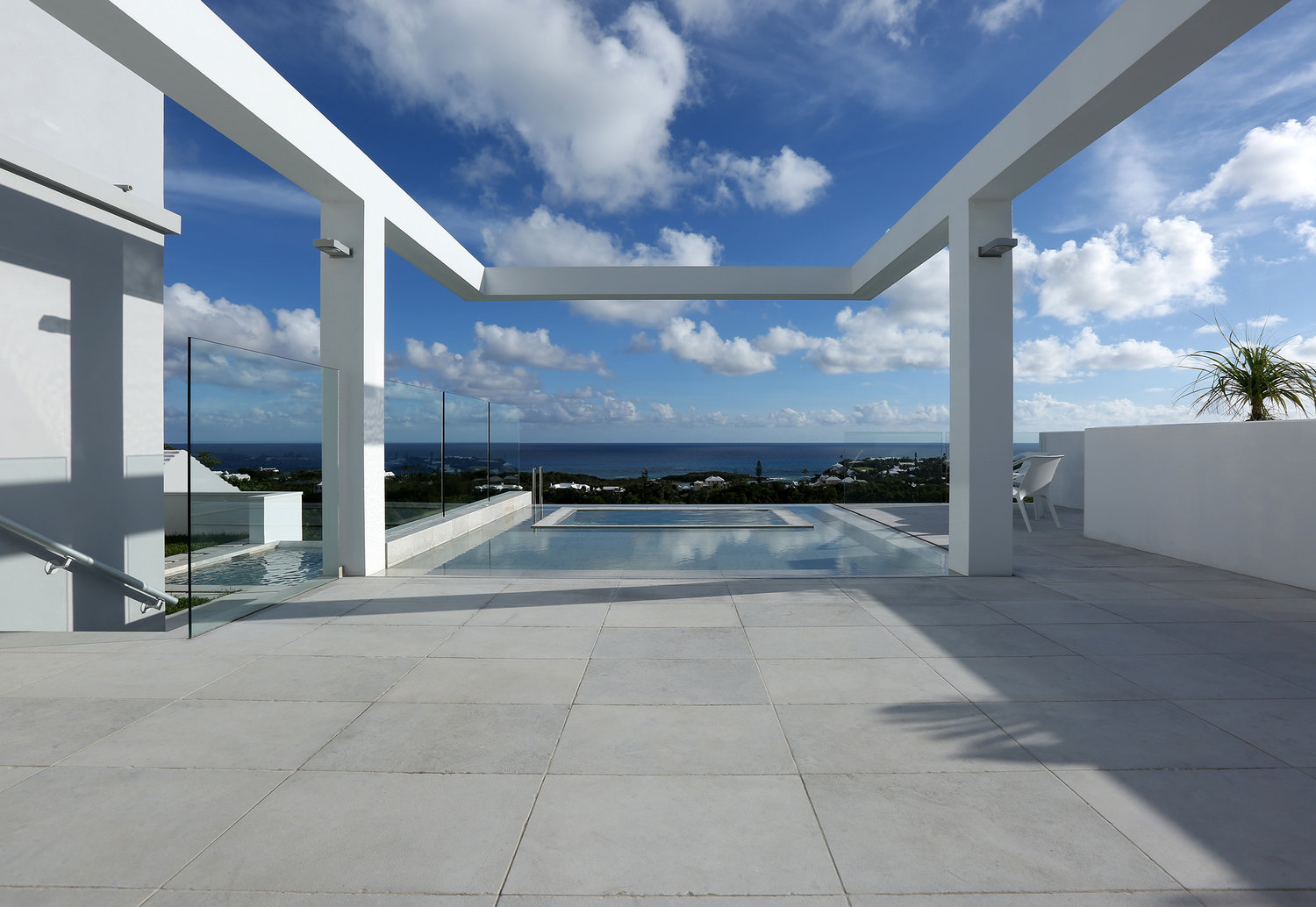 Katharina Hoskins' home, office and showroom, Bermuda. Katharina Hoskins.