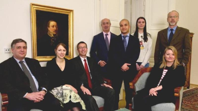 Austria's disarmament delegation. Photo: BMEIA