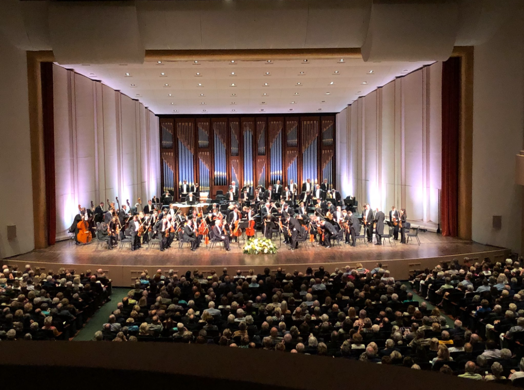 Performance of the Vienna Philharmonic Orchestra at Artis - Naples