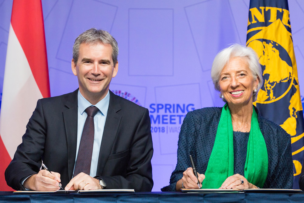Austrian Delegation at the IMF - World Bank Spring Meetings