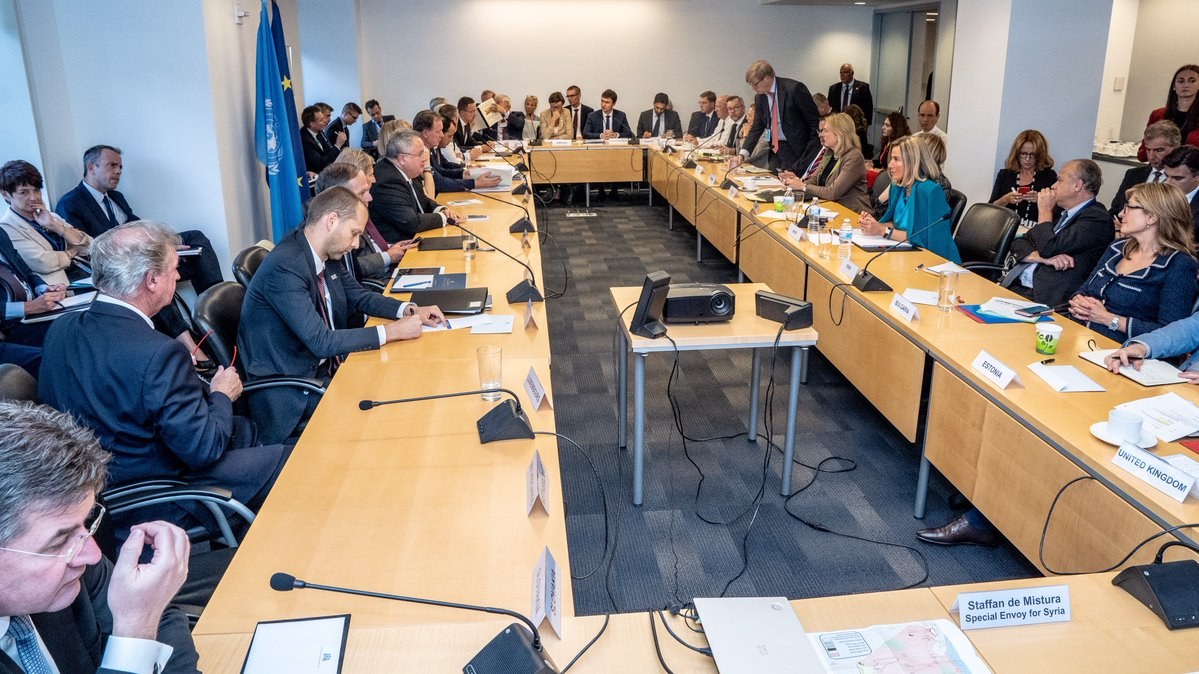 Informal working meeting of the EU Foreign Ministers (c) Austrian Ministry of Foreign Affairs