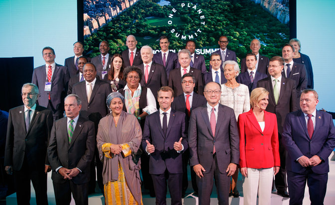 """One Planet Summit""  Photo: Peter Lechner/HBF"