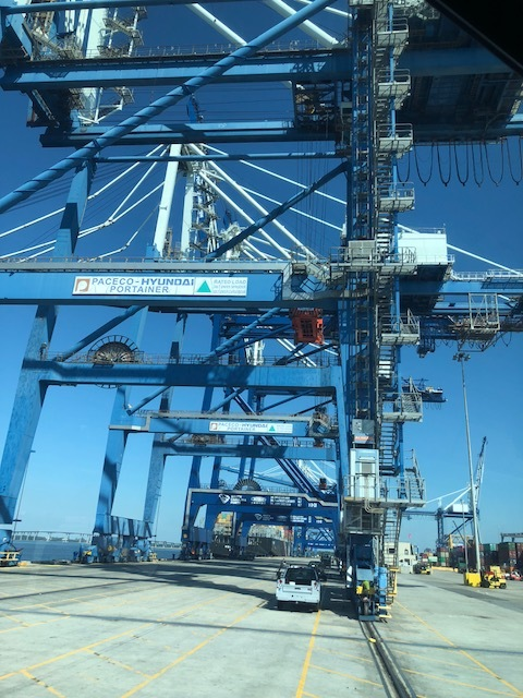 South Caroline Ports plays an important role in Charleston's integration with a global economy. It drives the region's growth and competitiveness.