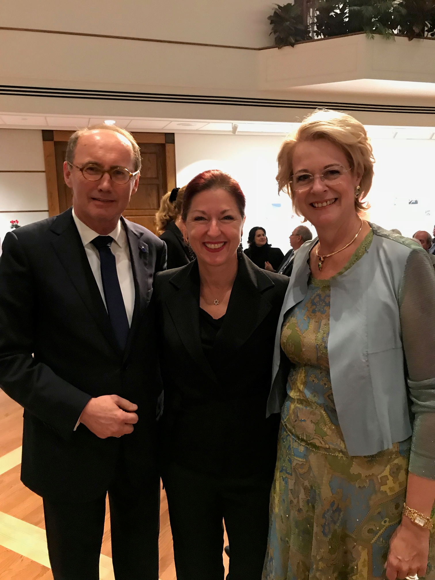 With Othmar and Christa Karas