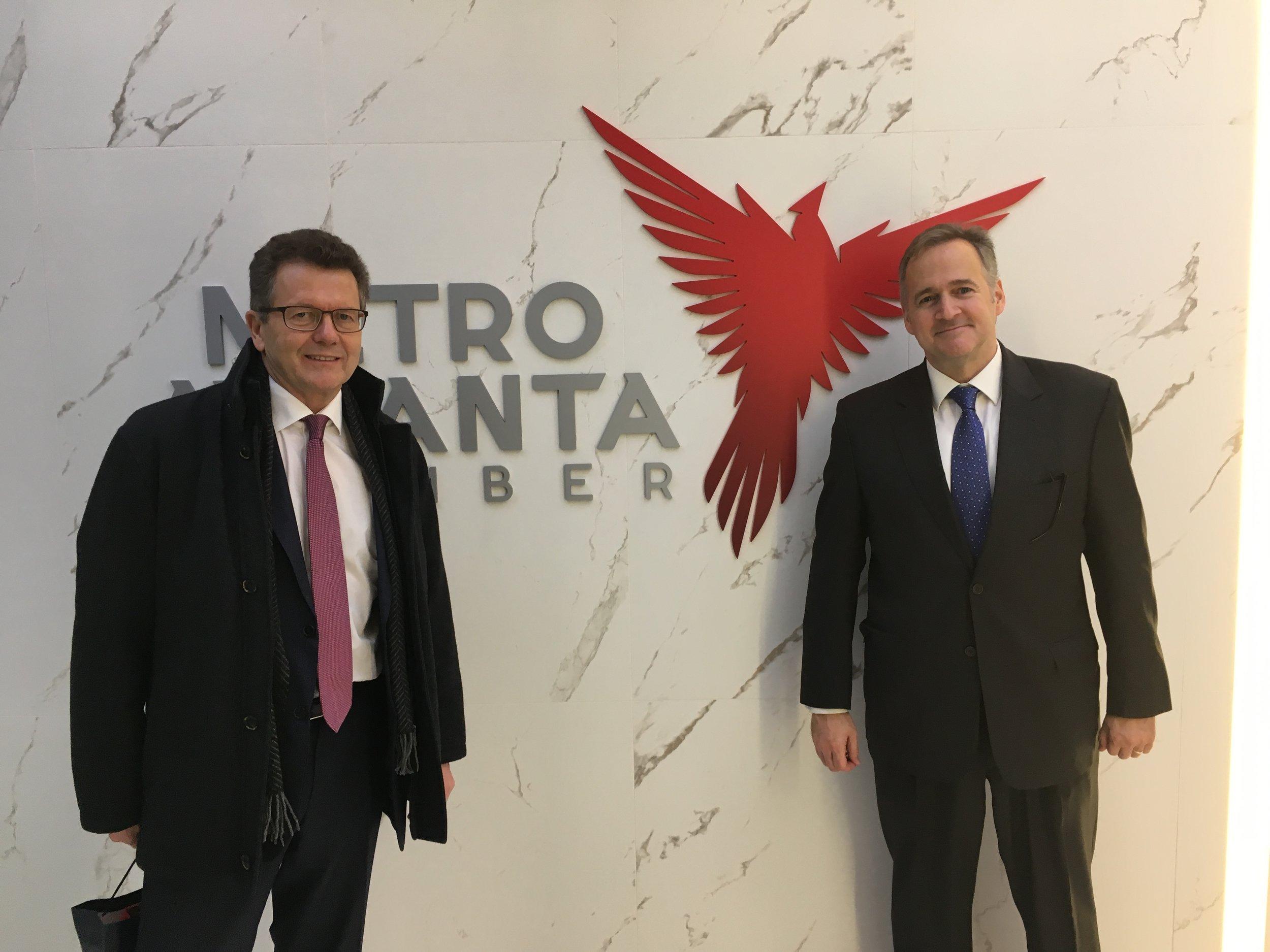 With John Woodward, Senior Director of the Georgia Metro Atlanta Chamber