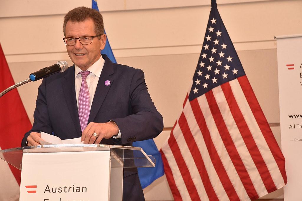 Ambassador Wolfgang Waldner   Photo: Peter Alunans