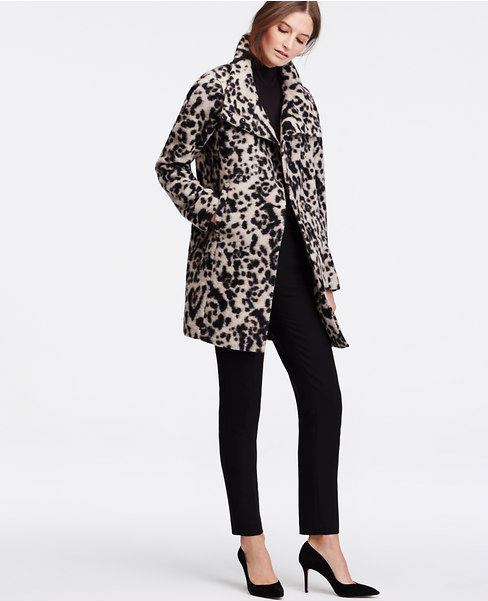 Spotted Statement Coat
