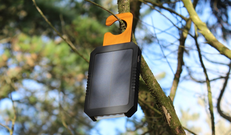 Xtorm Magma Charger Hanging from Tree Branch.jpg