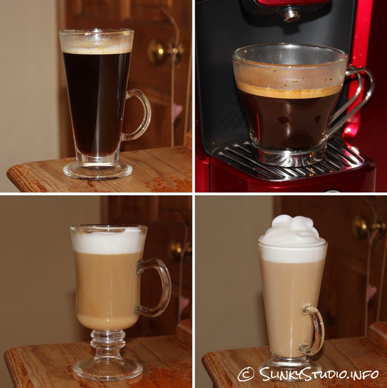 AEG Favola Cappuccino Coffee Machine Drinks.jpg