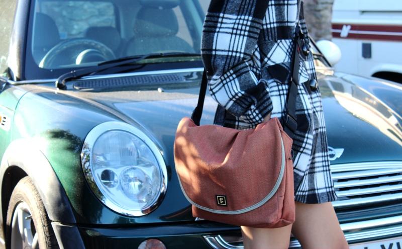 Rickshaw iPad Messenger Bag Wearing in Urban Enviroment.jpg