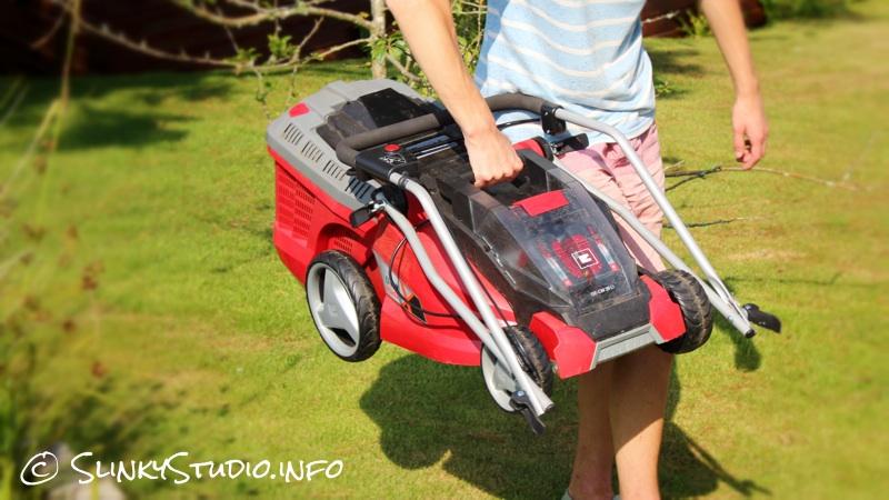 Einhell Power X-Change GE-CM Cordless Lawnmower Carry Handle.jpg