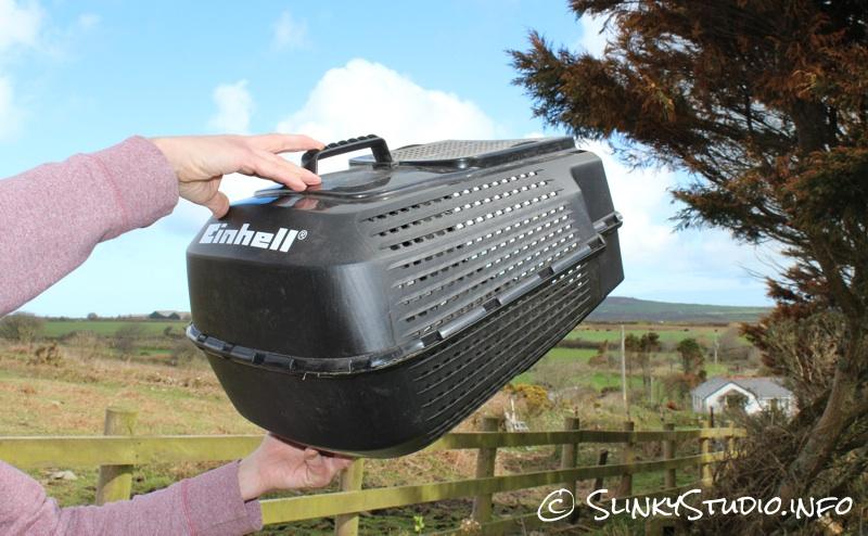 Einhell BG-EM 1437 Electric Lawnmower Plastic Grass Box.jpg