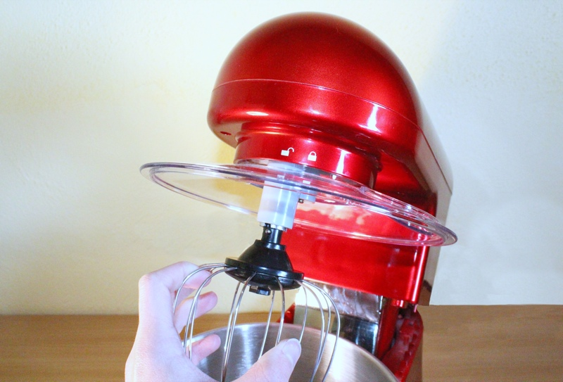 Andrew James 5.2L Food Mixer Attaching Attachments.jpg