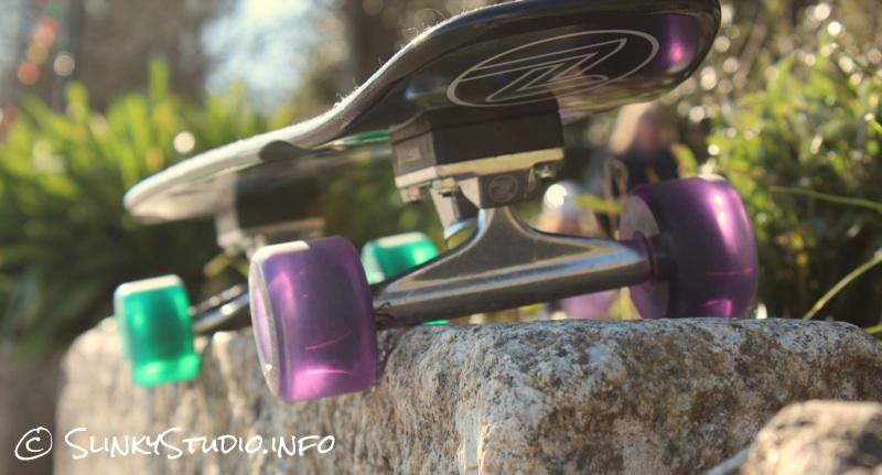 Z-Flex Jay Adams Cruiser Skateboard Low Angle Sun Glare.jpg