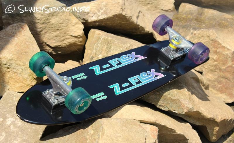 Z-Flex Jay Adams Cruiser Skateboard Bottom Deck Design Black.jpg