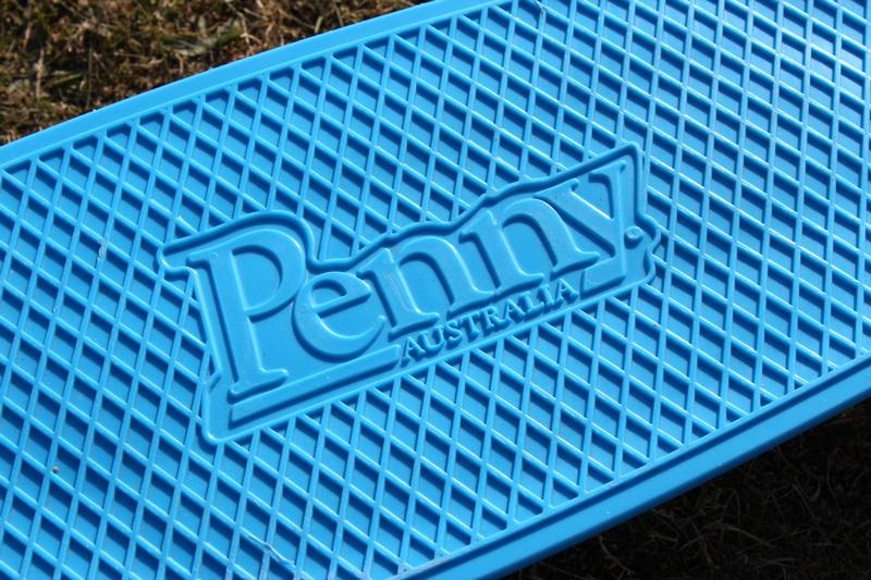 Penny Nickel Skateboard textured Waffle Deck.jpg