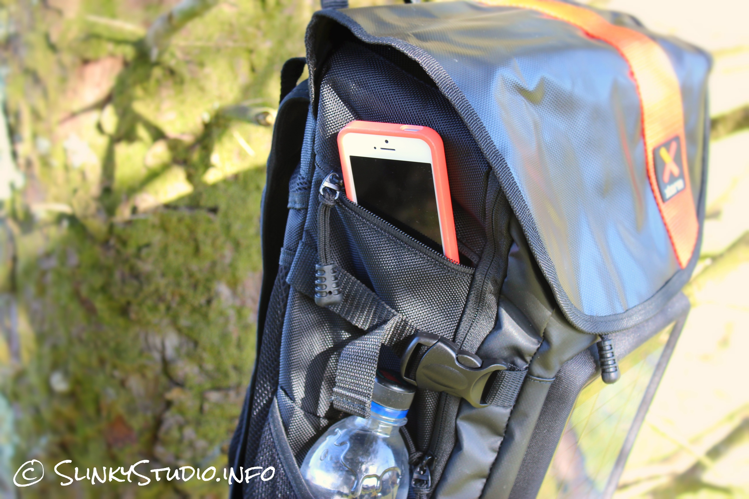 Xtorm Helios Solar Backpack Side Pocket