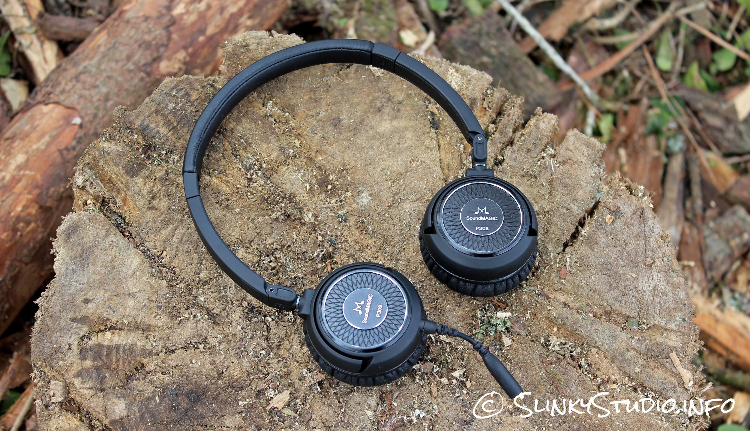 SoundMAGIC P30s Headphones Above View.jpg