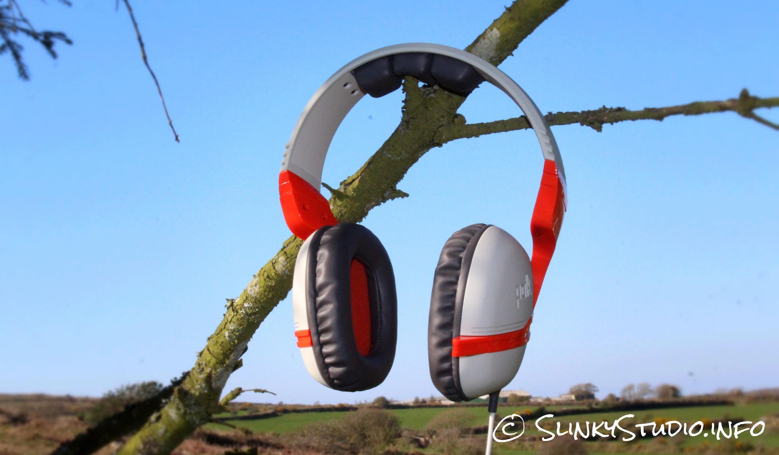 Polk Audio Striker ZX Gaming Headset Sky Shot