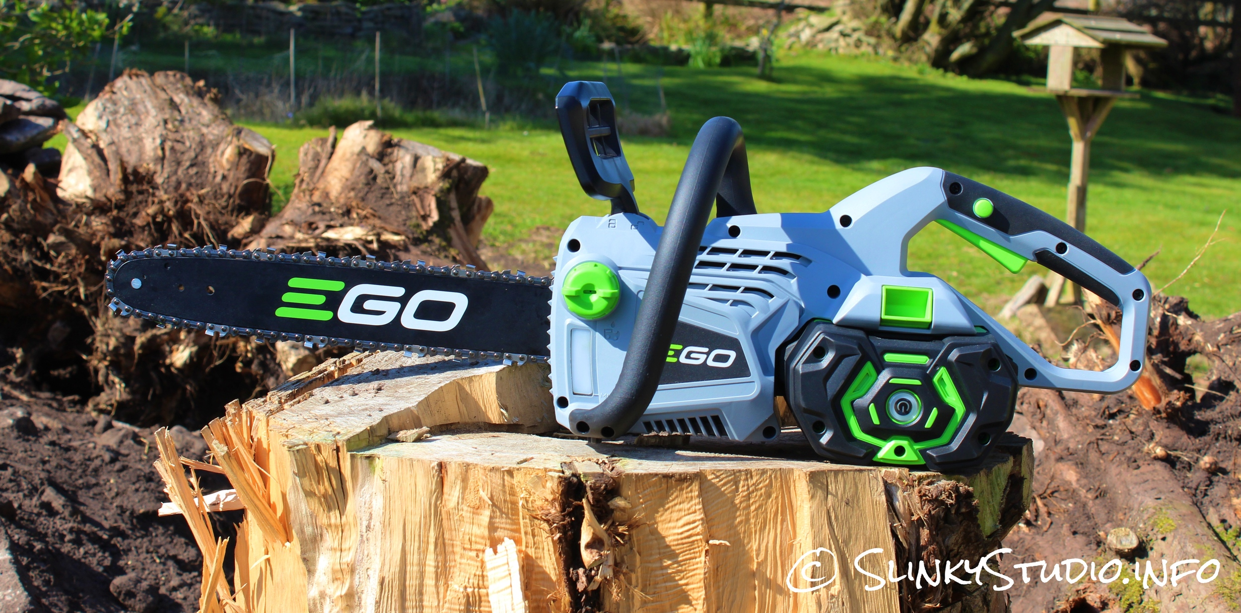EGO Power+ Cordless Chainsaw Side View