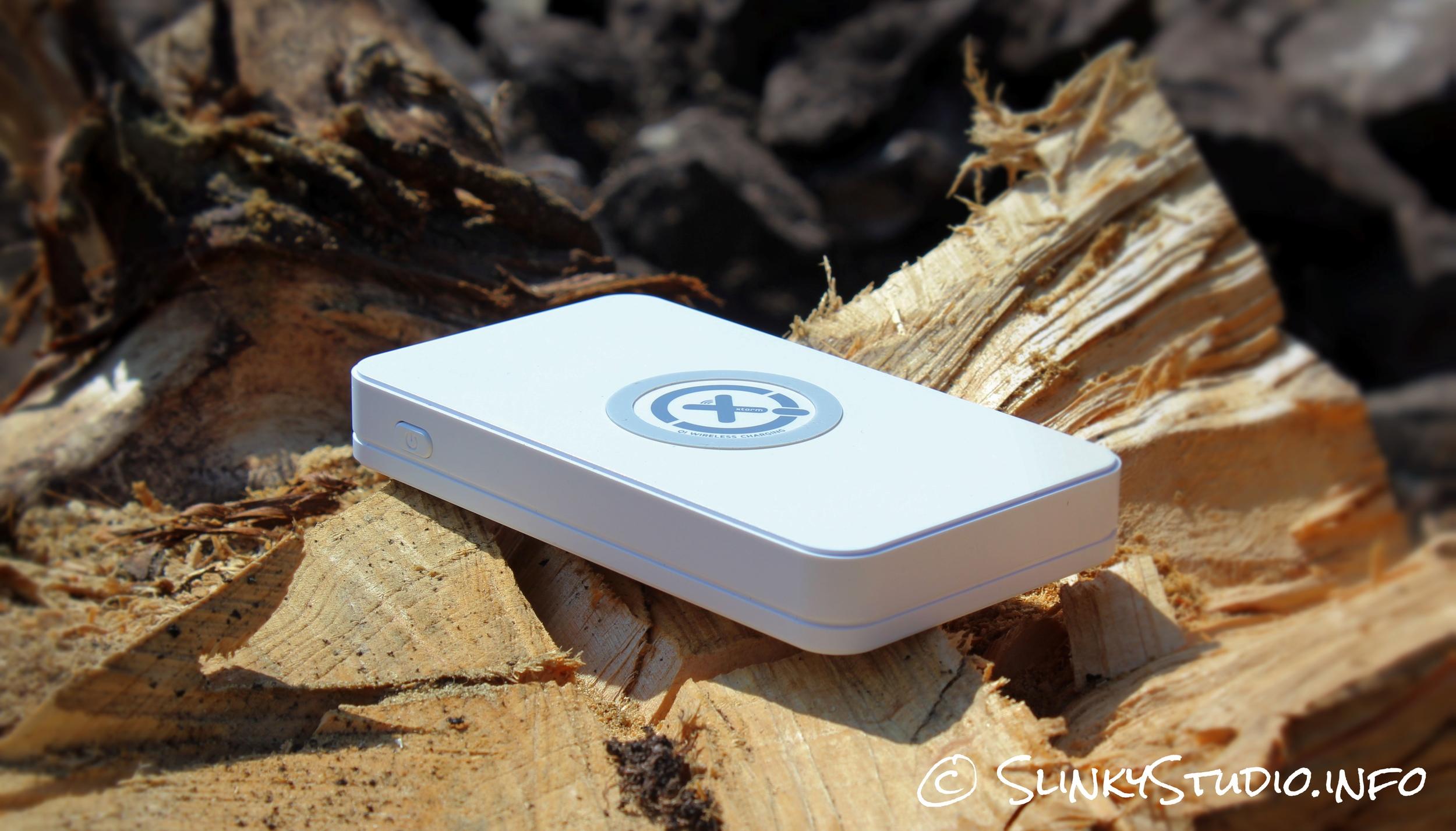 Xtorm Wireless Power Bank On Wood