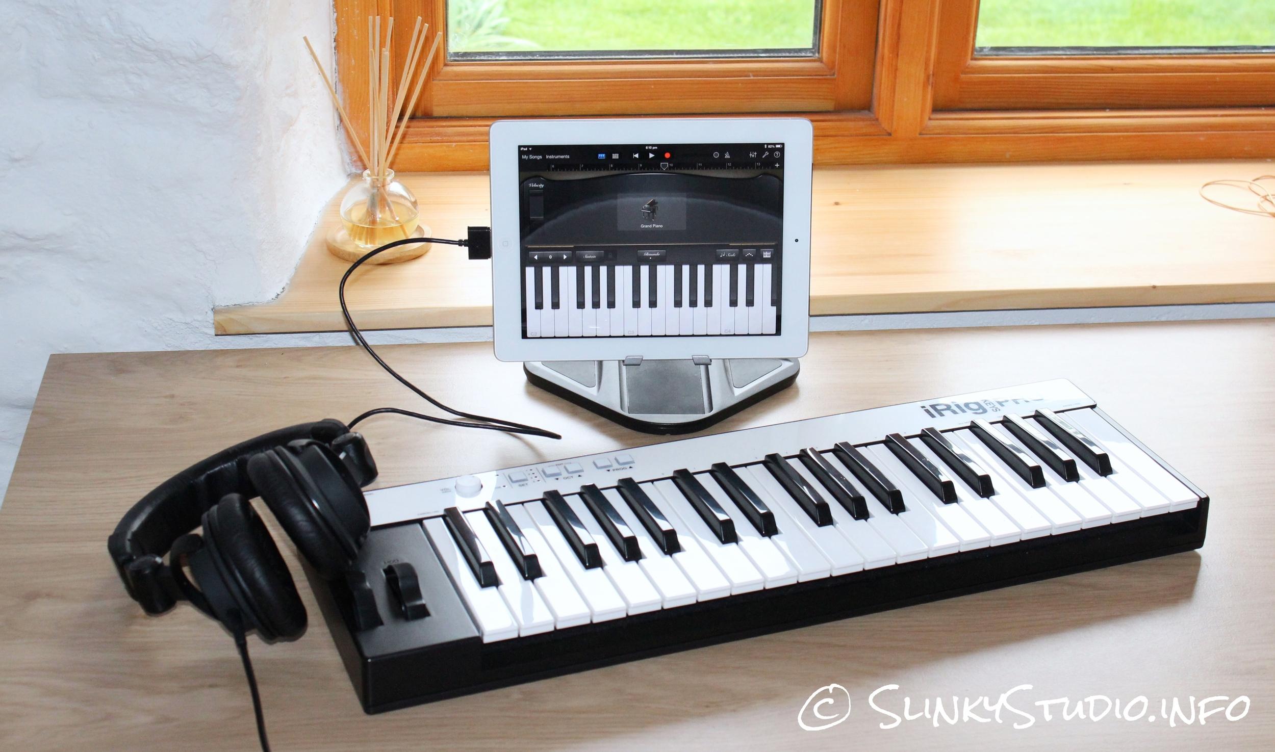 IK Multimedia iRig Keys Pro Keyboard
