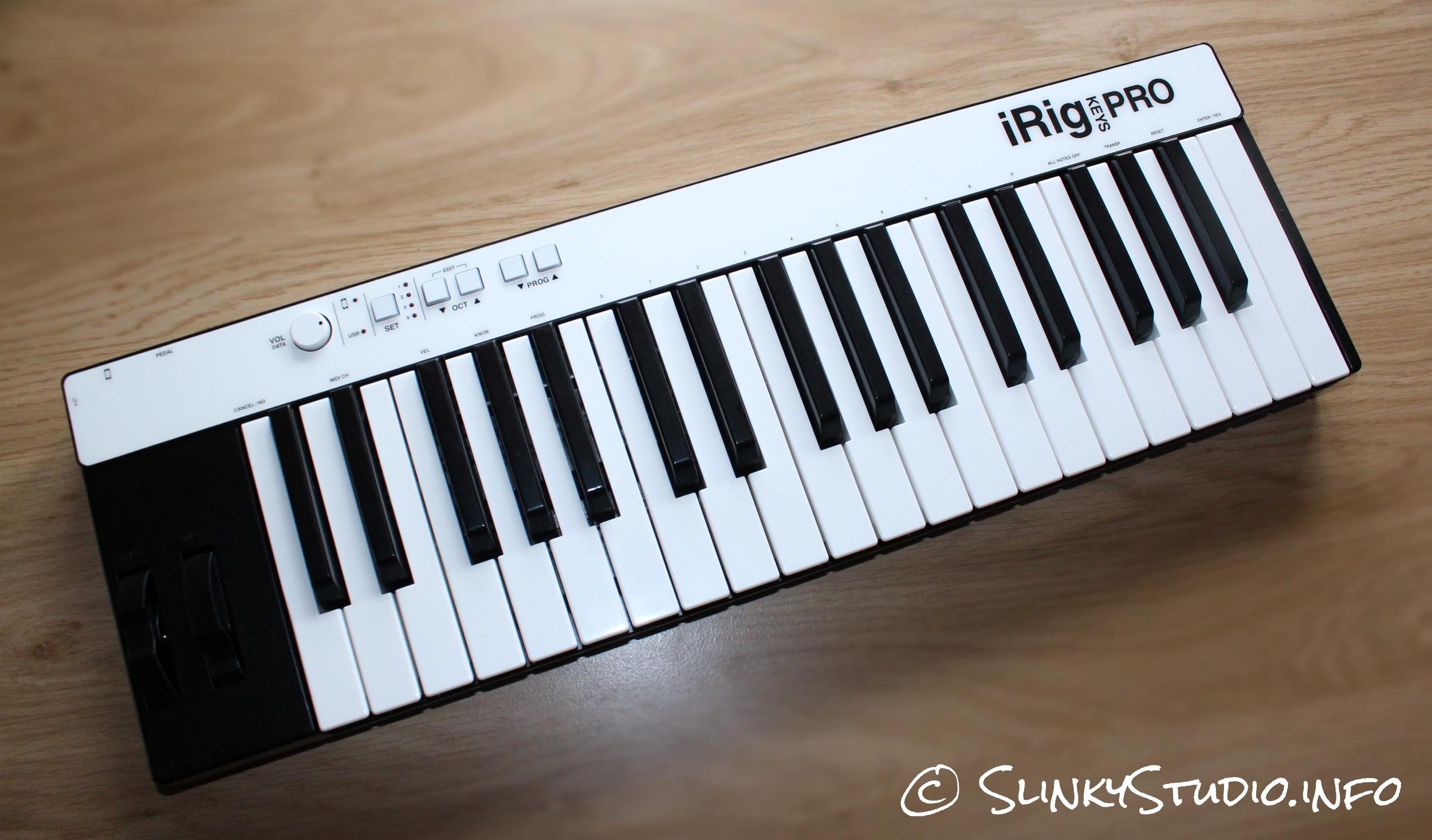 IK Multimedia iRig Keys Pro Keyboard Full View