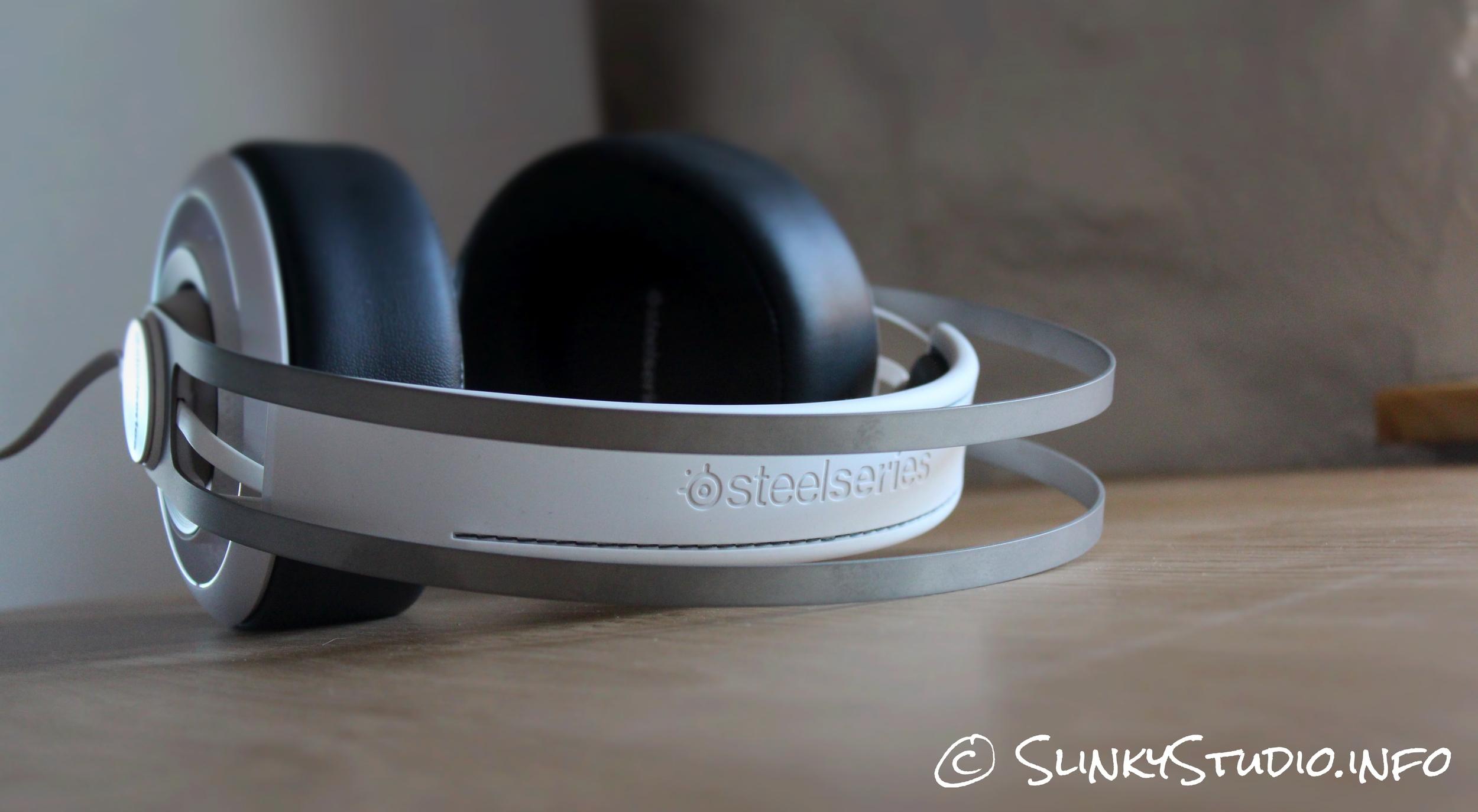 SteelSeries Elite Prism Gaming Headset Steel Headband