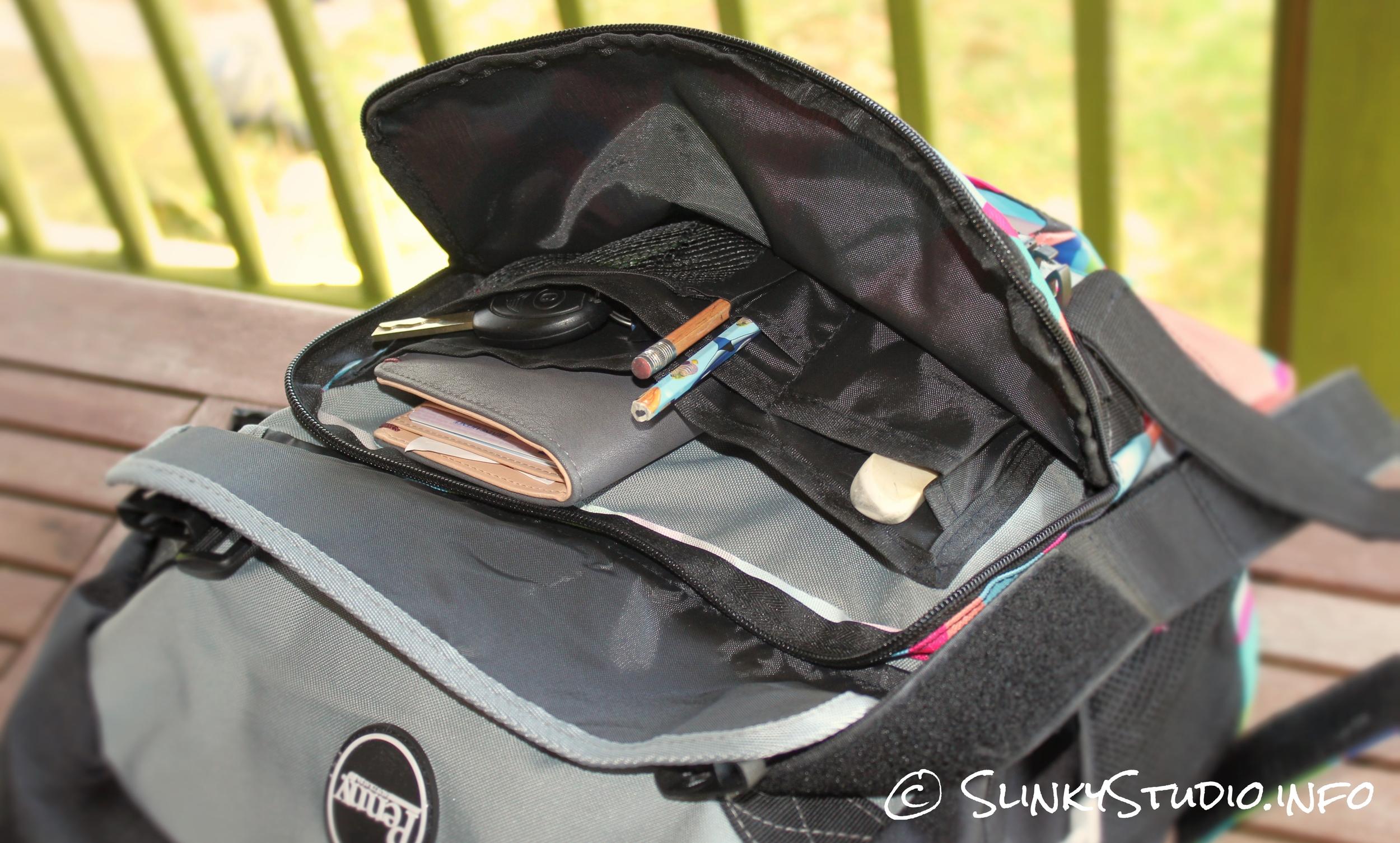 Penny Pouch Backpack Slater Front Pocket