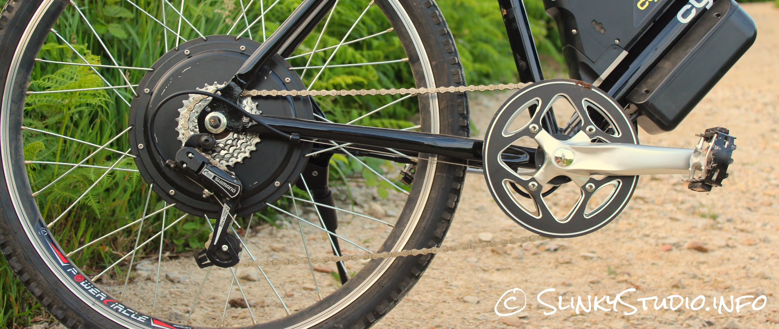 Cyclotricity Revolver 500W eBike Motor Chainset