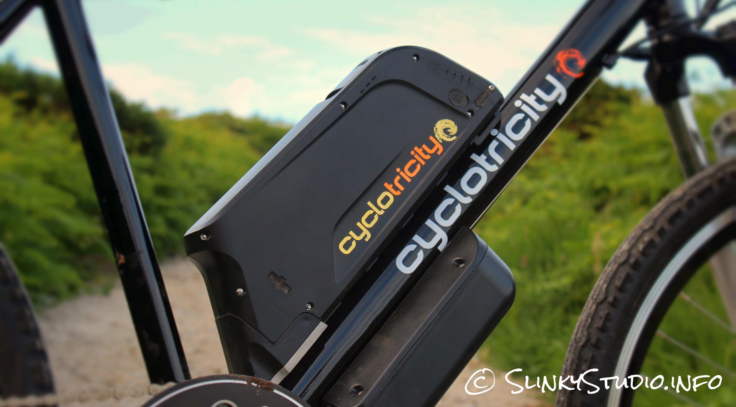 Cyclotricity Revolver 500W eBike Battery