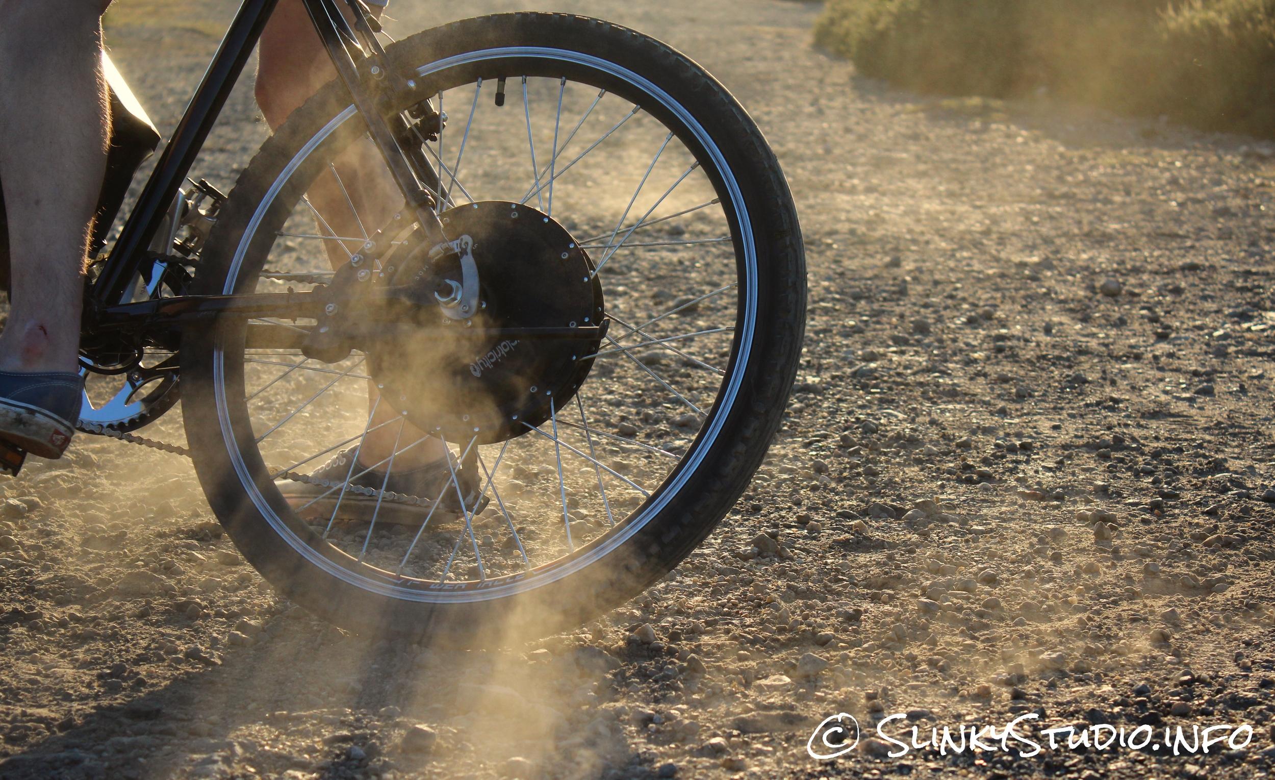 Cyclotricity Revolver 500W eBike Dust Trail