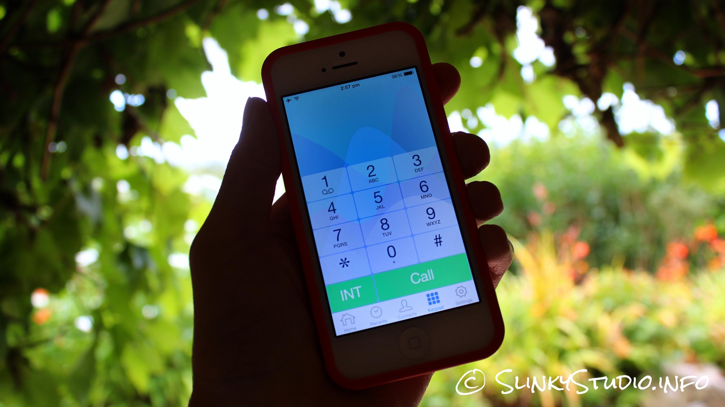 Swissvoice VoiceBridge App Number Pad