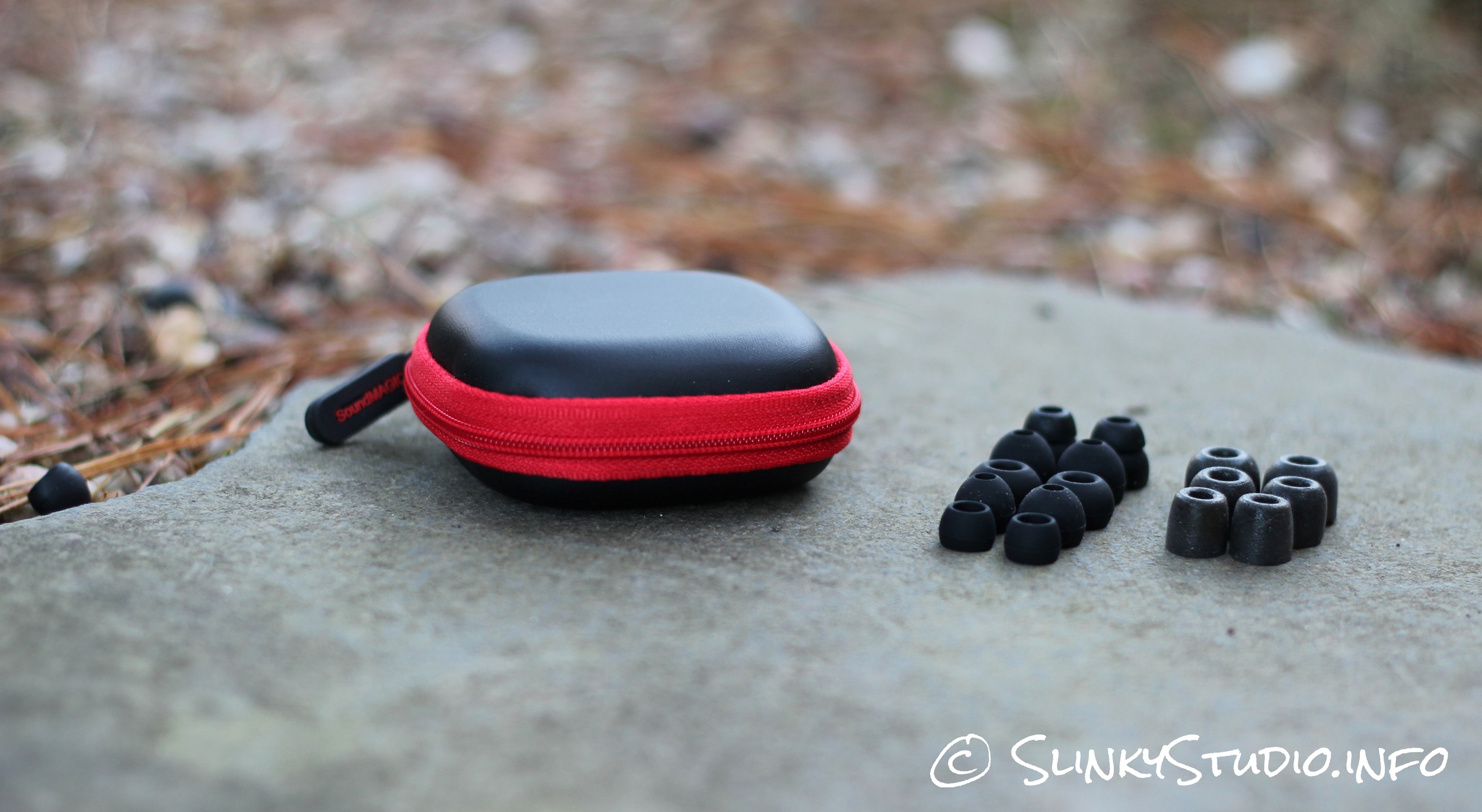SoundMAGIC E80 Earphones Carry Case and Tips