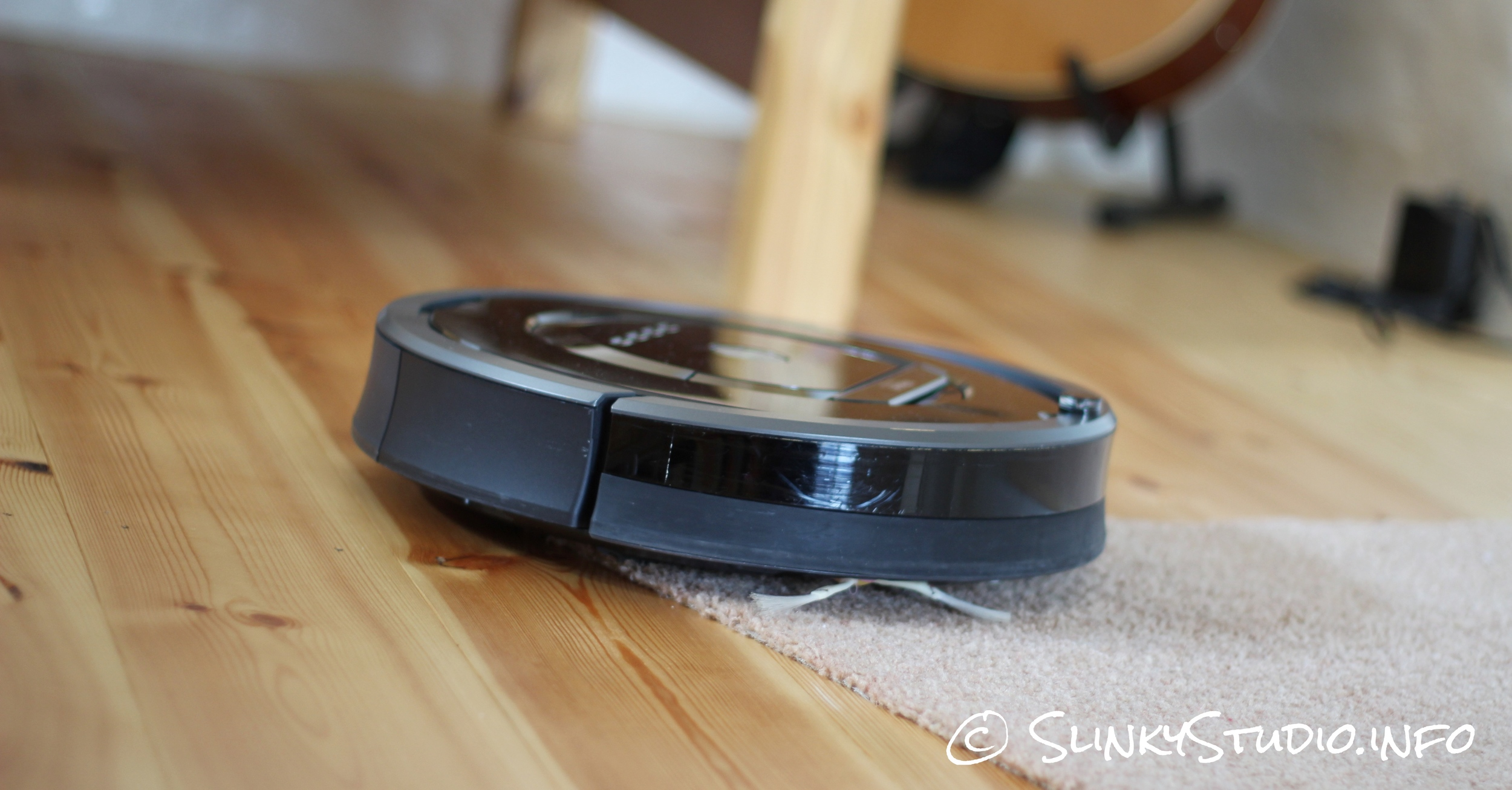 iRobot Roomba 880 Hard Wooden Floor to Rug