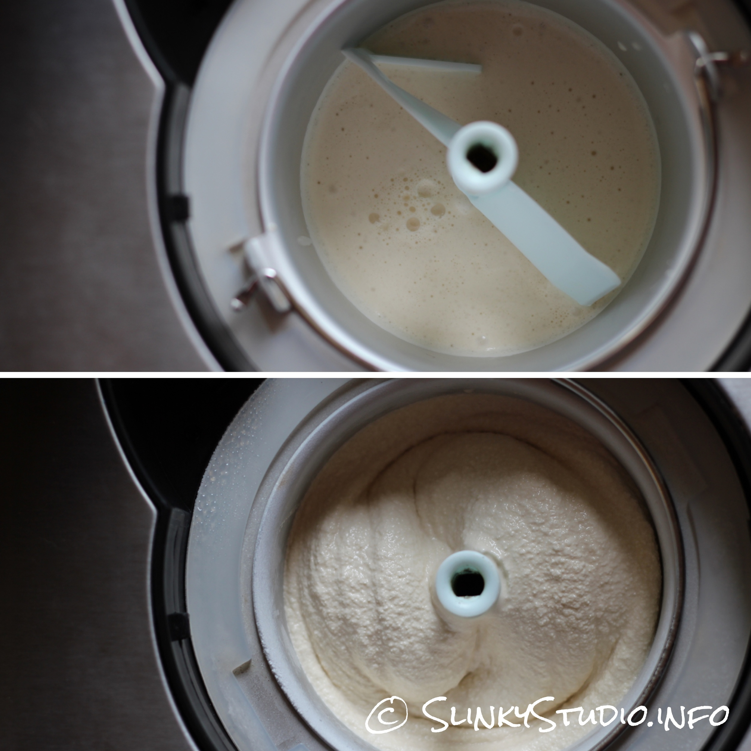 Andrew James Professional Ice Cream Maker Results