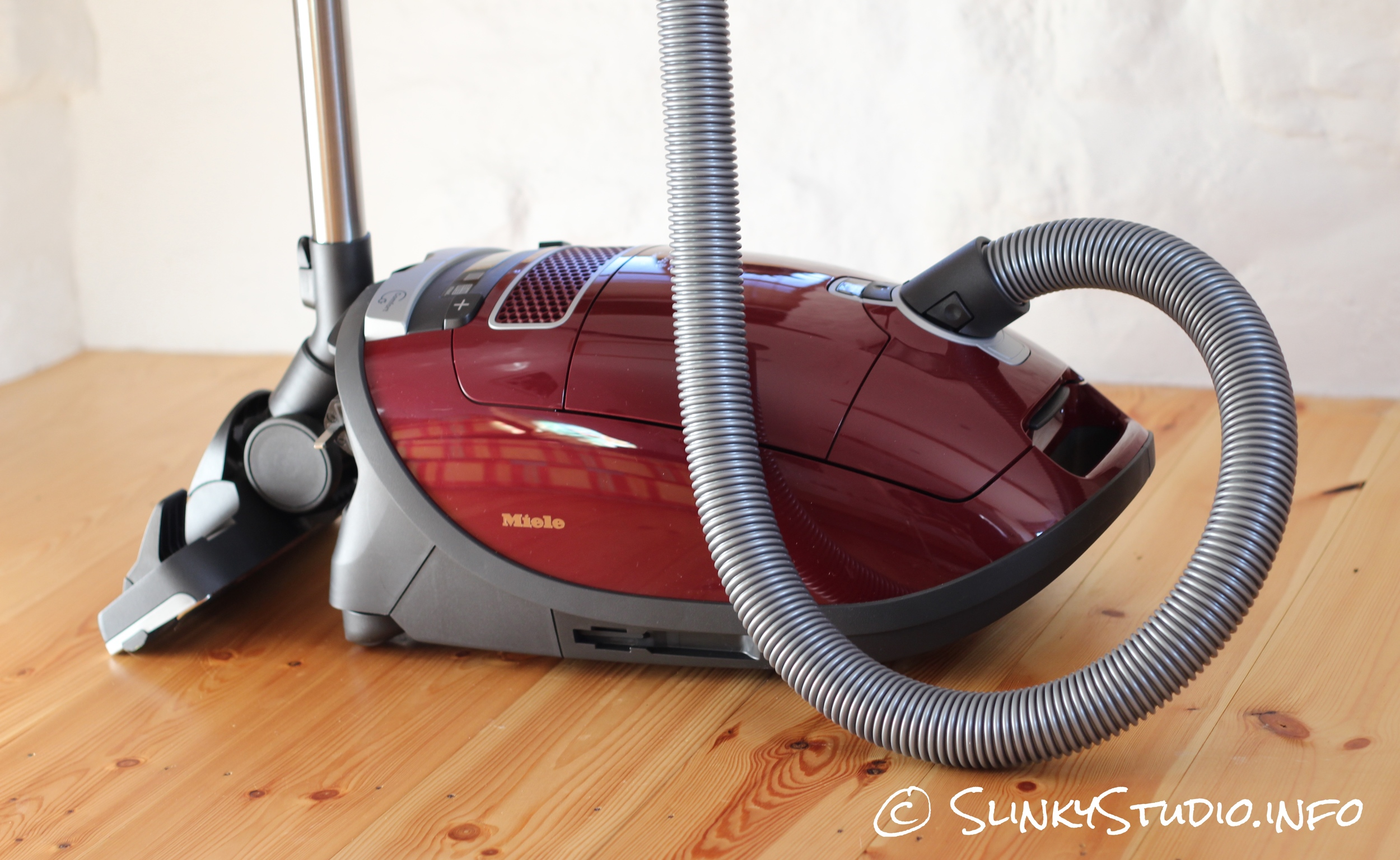 Miele Complete C3 Cat and Dog Powerline Cleaner Side View