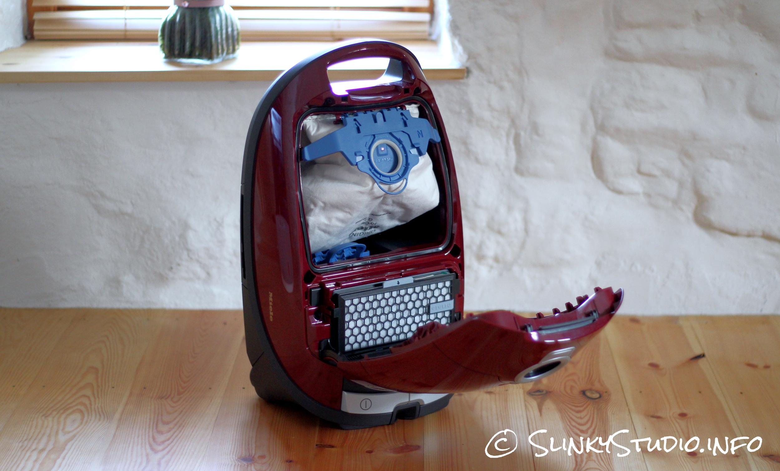 Miele Complete C3 Cat and Dog Powerline Cleaner Door Open