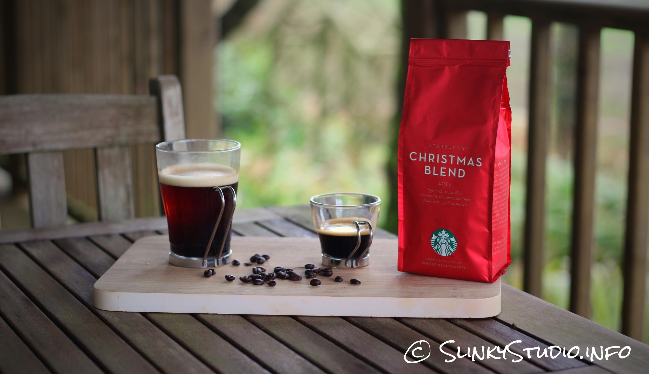 Starbucks Christmas Coffee.Starbucks Christmas Blend Review Slinky Studio