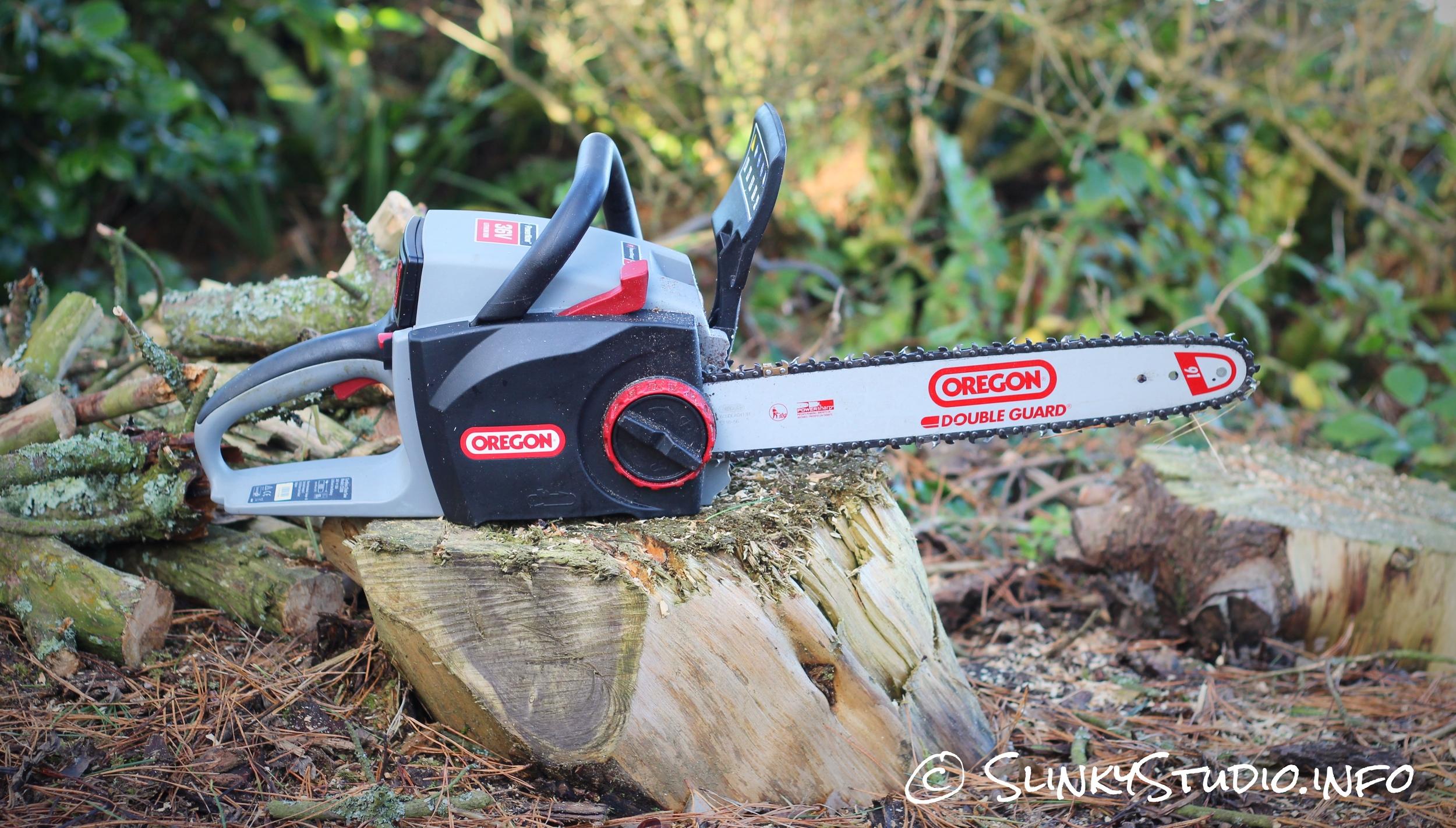 Oregon CS300 PowerNow Cordless Chainsaw