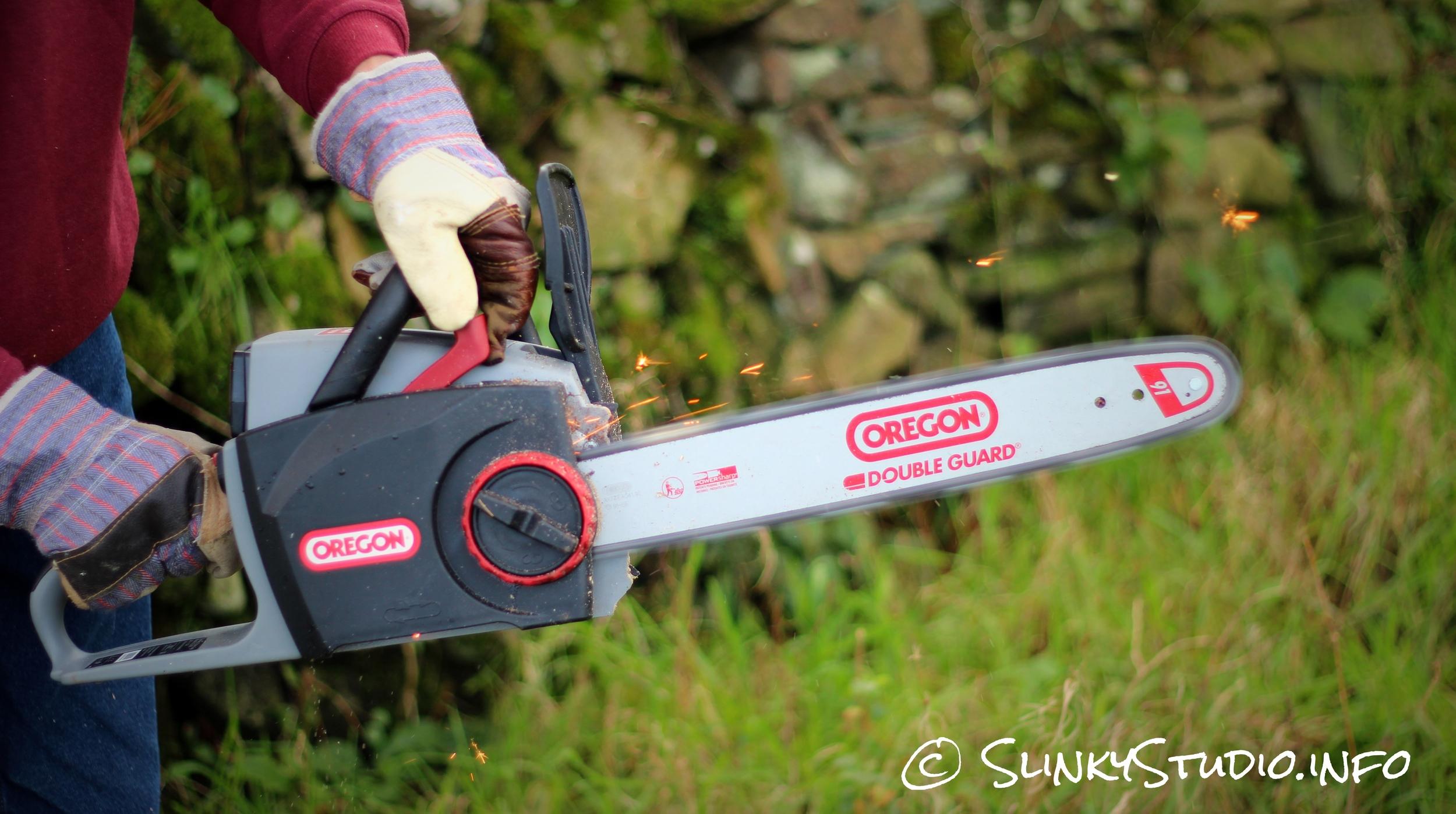Oregon CS300 PowerNow Cordless Chainsaw Chain Sharpener