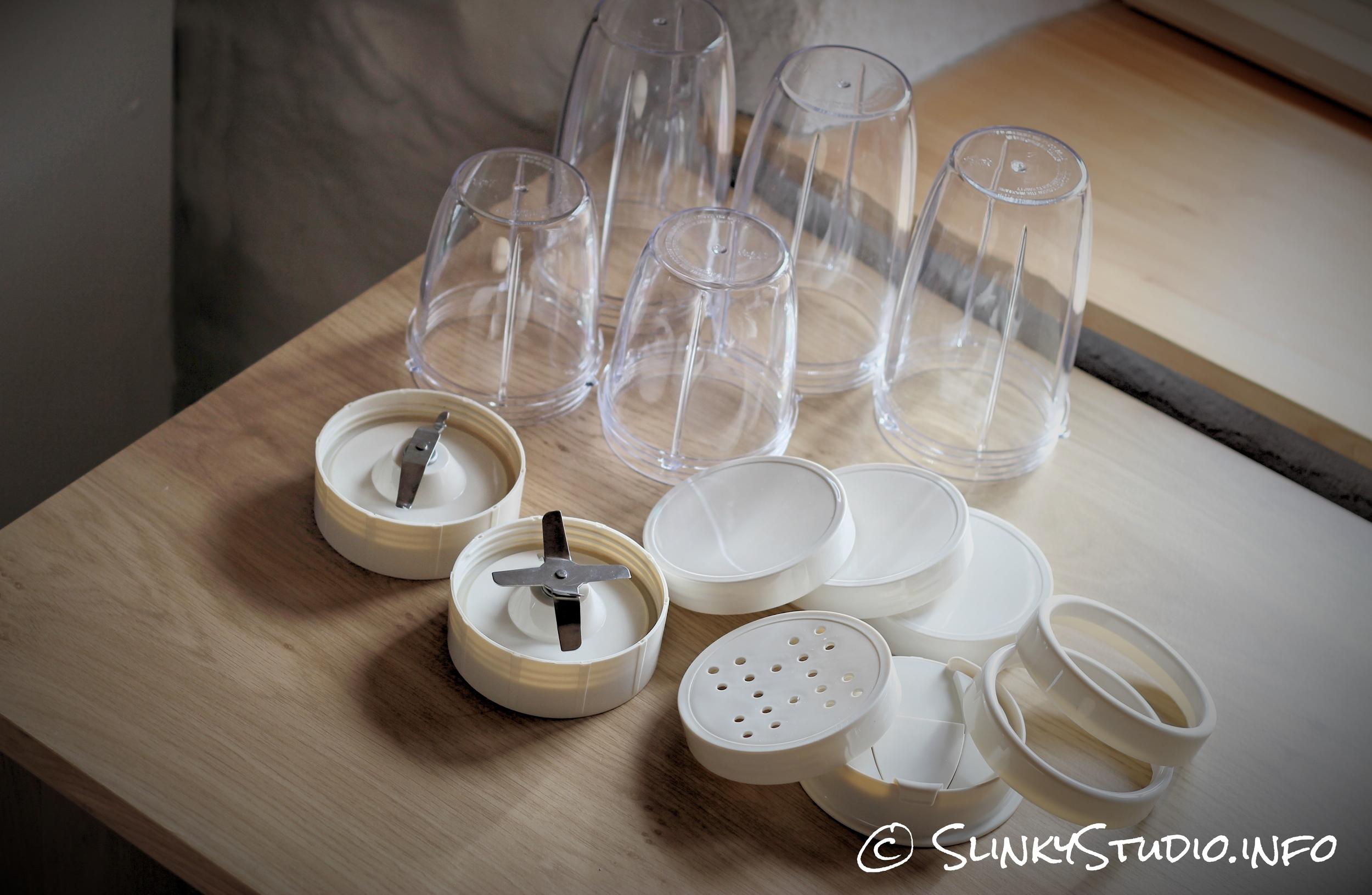 Retro Super Blend Blender Jars and Lids