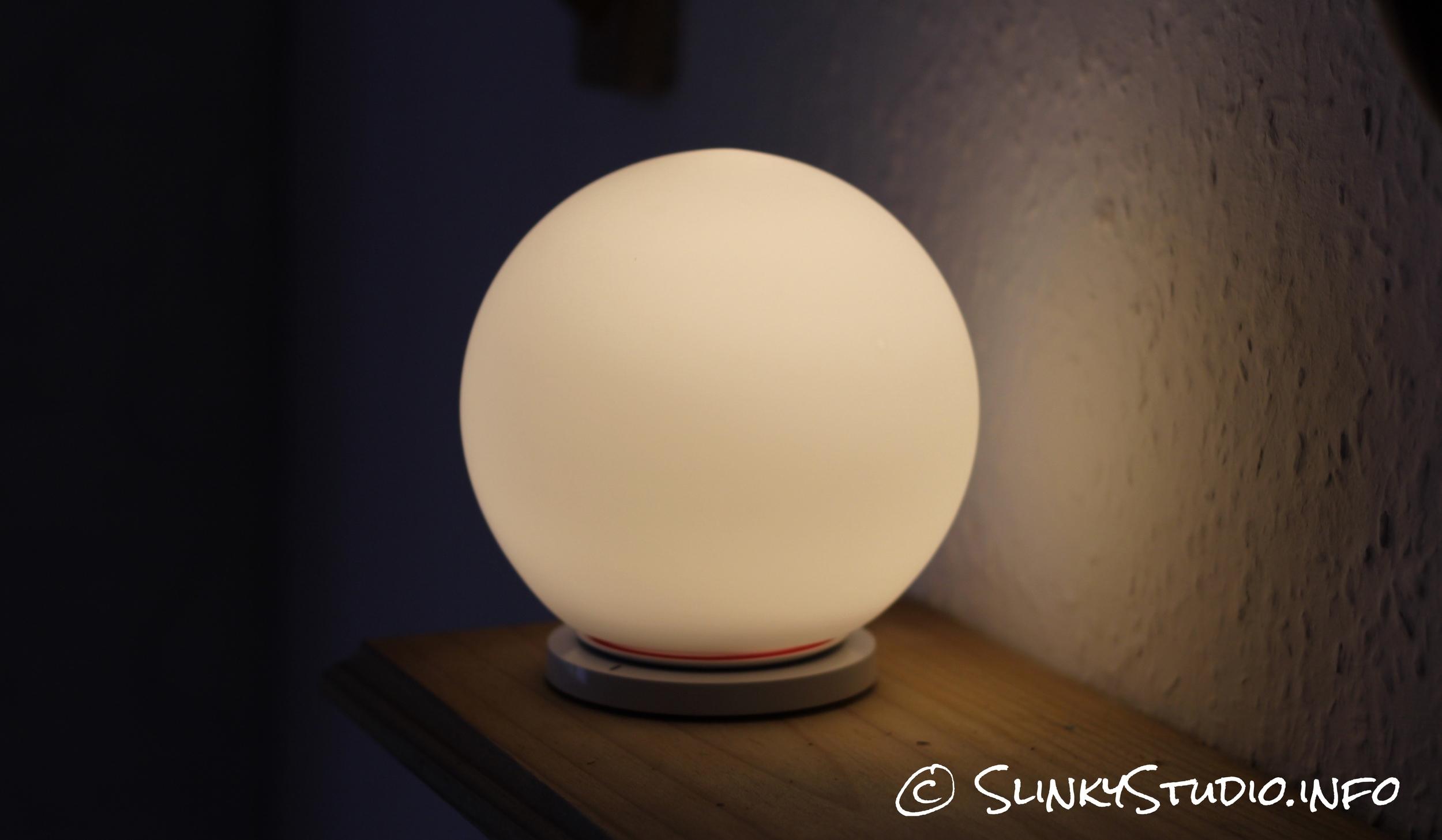 MiPow Playbulb Sphere Light On Shelf.jpg