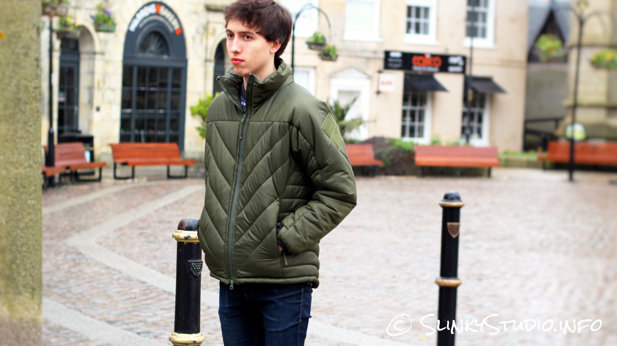 Snugpak SJ6 Jacket Hands in Pockets Truro Cornwall Centre.jpg