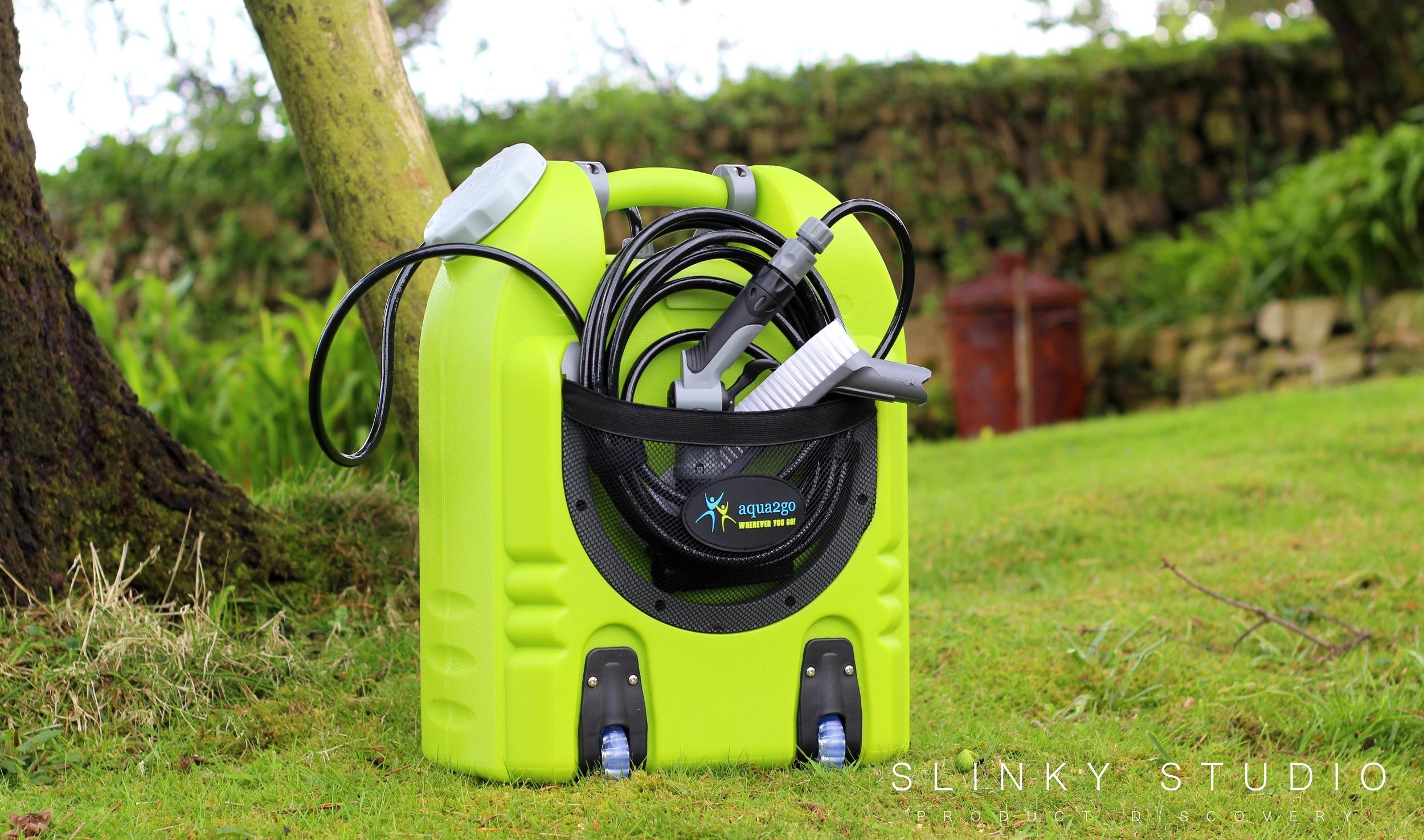 Aqua2Go Pro Smart Pressure Washer Tools Compartment Net.jpg