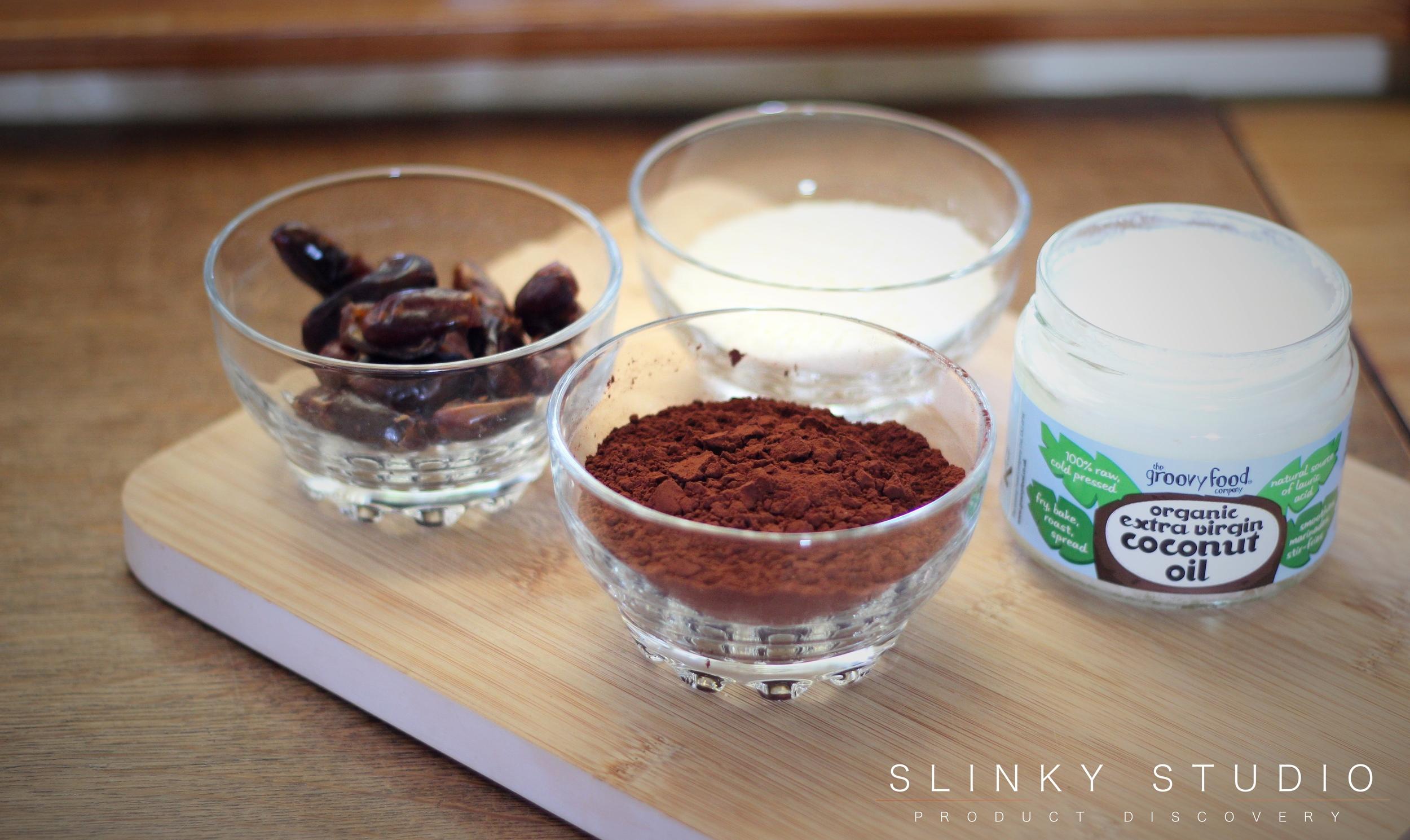 Optimum G.21 Platinum Series Blender Vegan Raw Chocolate & Coconut Rough Ingredients.jpg